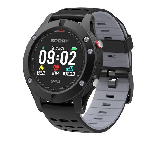 F5 Smart watch GPS Sensor Built-in Support Multi Motion Modes Fitness Monitor Real Time Temperature Measurement Band