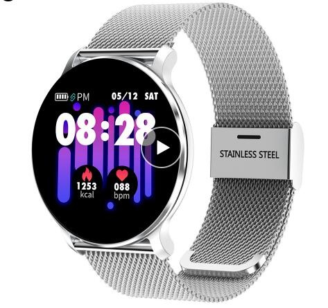 NY03 Smart Watch Message call reminder Waterproof Smartwatch Heart rate monitor fashion Fitness Tracker with Hband APP