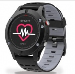 GPS Smart Watch Sensor Built-in Bt 4.2 Multi Motion Modes Fitness Monitor Real Time Temperature Measurement F5 Smart Wristwatch