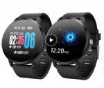Smartwatch Real-time Heart Rate Blood Pressure Monitor Multi-sport mode Breathing Light Smart Watch for Android IOS Phone